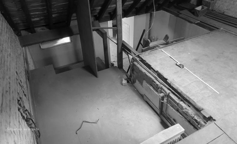 atelier4cinquieme, atelier 4/5, jean-françois glorieux, florent grosjean, architecture, mobilier, design, rénovation, recup, reuse design, rénovation d'un appartement, rénovation d'un duplex, bruxelles, saint-gilles, architecture contemporaine