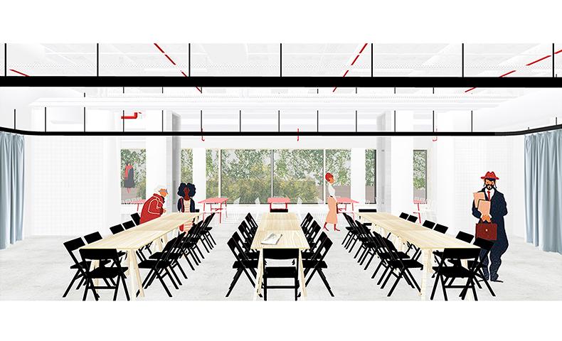 atelier4cinquieme, architecture, mobilier, design, atelier 4/5, perspective brussels