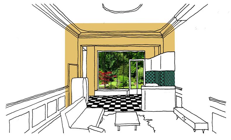 atelier4cinquieme, architecture, rénovation, appartement, bruxelles, architecte, vintage, rétro, bohème, transformation, atelier45, maison bruxelloise, jean françois glorieux, florent grosjean