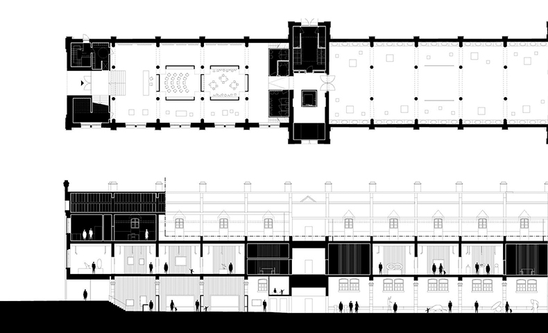 atelier4cinquieme, architecture, mobilier, design, atelier 4/5, atelier 4-5, florent grosjean, jean-françois Glorieux, architectes, bruxelles, recup, architecture, musée des Beaux-Arts de Charleroi
