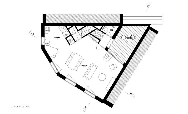 atelier4cinquieme, atelier 4/5, architecture, mobilier, design, construction neuve, rénovation, bruxelles, wallonie, duplex, terrasse