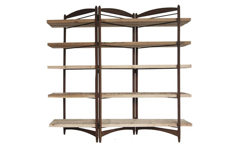 atelier 4/5 - atelier4cinquieme - mobilier - reuse slow design - brocante - étagère paravent - shelf vs screen