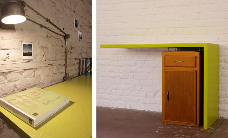 atelier 4/5 - atelier4cinquieme - mobilier - reuse slow design - brocante - bureau - Unit L