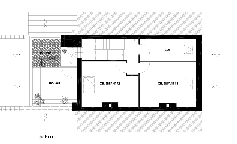 atelier4cinquieme, atelier 4/5, atelier 45, architecture, mobilier, design, rénovation, transformation, extension, maison, bruxelles, appartement, architecte