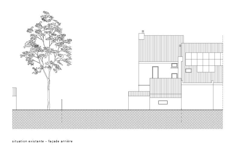 atelier4cinquieme, atelier 4/5, atelier 4 cinquième, architecture, rénovation, bruxelles, maison unifamiliale, Melle, architecte, patio, briques, béton, architecte