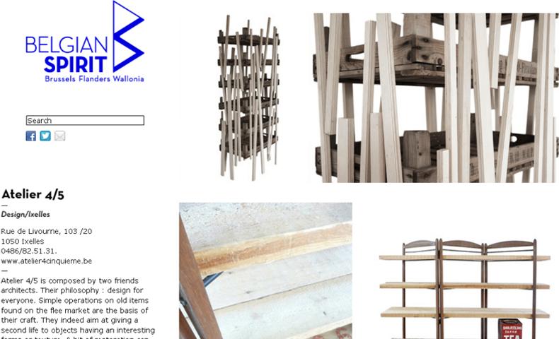 atelier4cinquieme_atelier 4/5_architecture_design_mobilier_Belgian Spirit