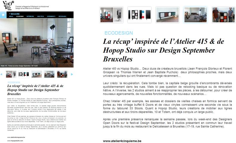 atelier4cinquieme_atelier 4-5_mobilier_design september 2012_open doors_atelier_bruxelles