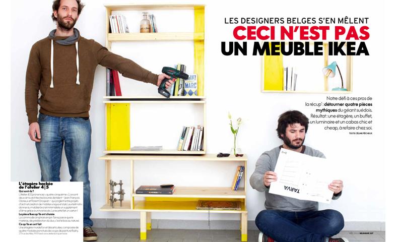 atelier4cinquieme_atelier 4-5_design_mobilier_ikea_tarva_artav_elle belgique