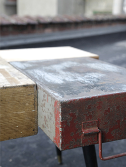 atelier 4/5 - atelier4cinquieme - mobilier - reuse slow design - brocante - table basse - boites - box table