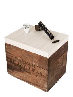 atelier 4/5 - atelier4cinquieme - mobilier - reuse slow design - brocante - récup - coffre - caisse - wooden box and coffee table